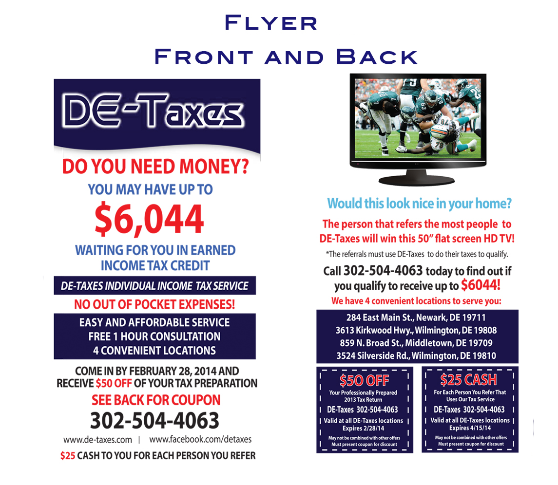 direct mail campaign -flyer
